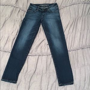 American Eagle Dark Jeans Size 0 Regular/Skinny